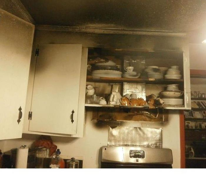 Fire Damage – Charlotte Kitchen Before