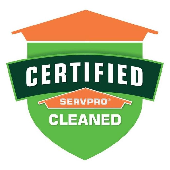 Certified: SERVPRO Cleaned - SERVPRO of South Charlotte